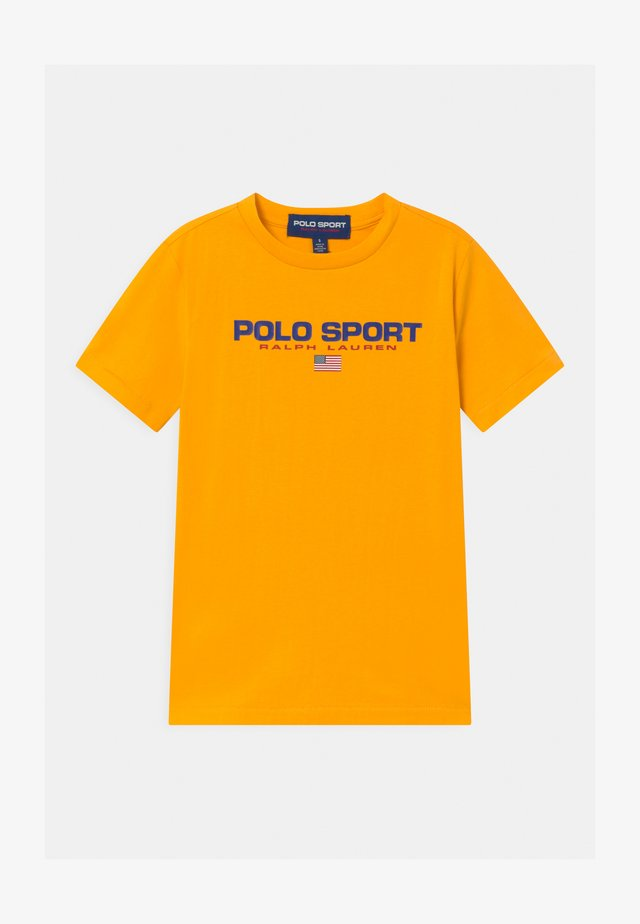 T-Shirt print - gold bugle