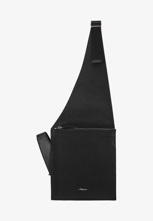 BODY BAG - Taška spříčným popruhem - black