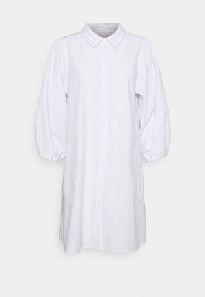 ELAINA DRESS - Abito a camicia - bright white