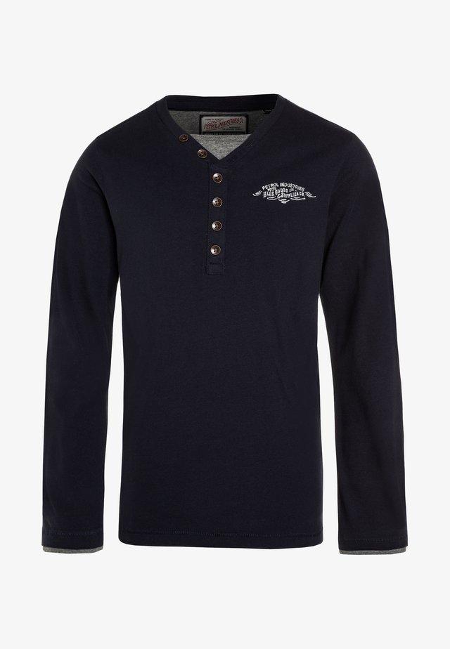 Långärmad tröja - deep navy
