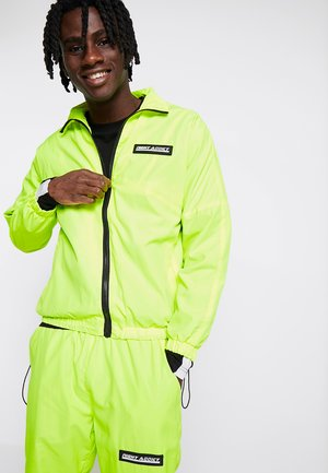 NAYORK - Summer jacket - neon yellow