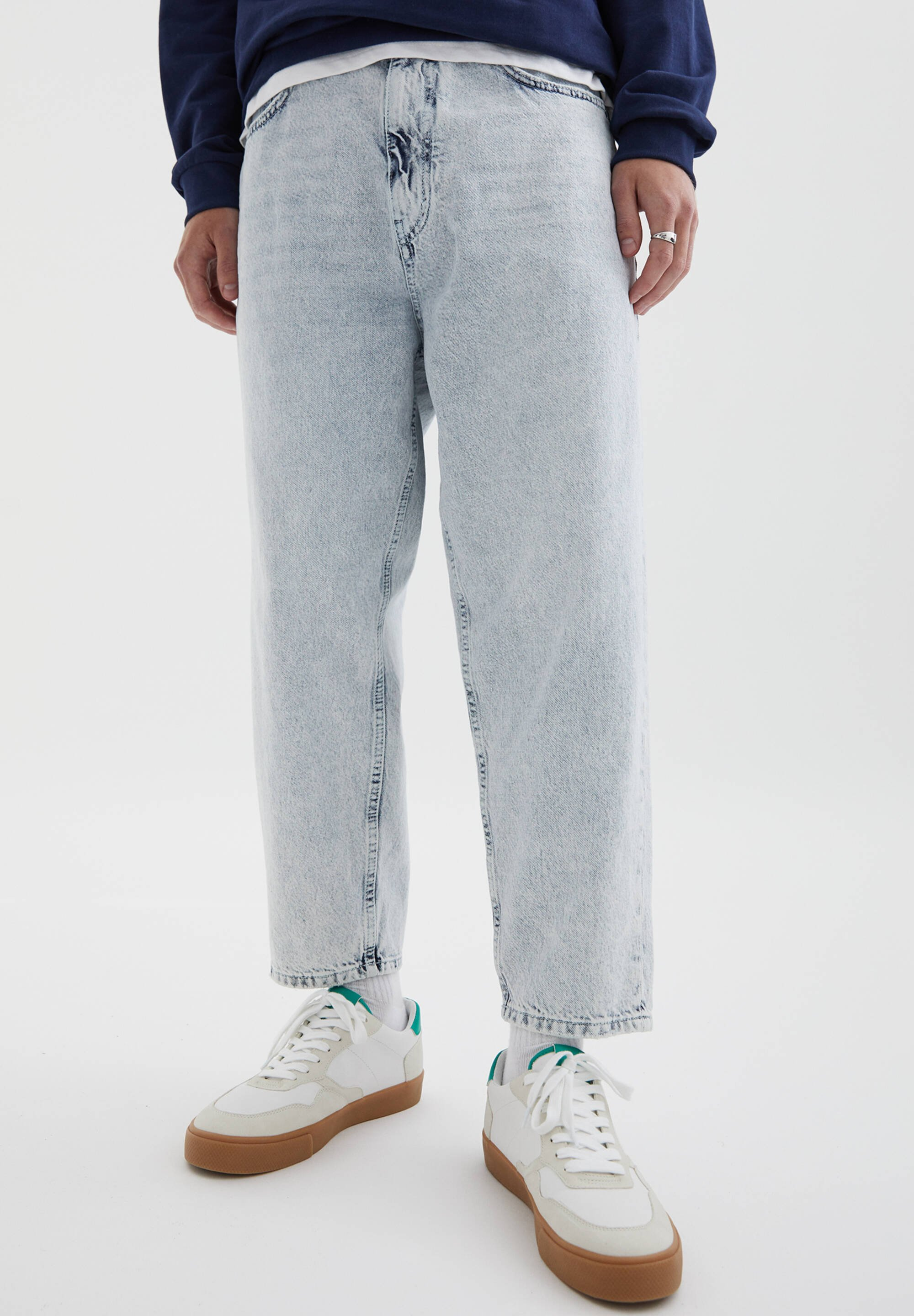 Herren Jeans Tapered Fit