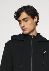 Pier One - Sweat à capuche zippé - black - 3