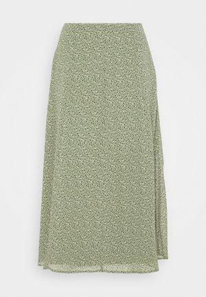 SKIRT - A-line skirt - light khaki