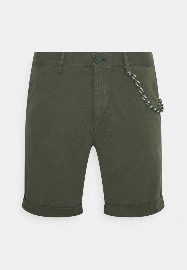 ELASTIC WAISTBAND - Shorts - deep depth