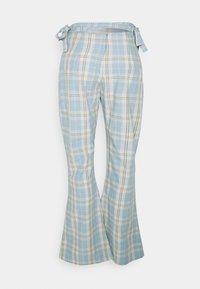 Milk it - PLAID  - Pantaloni - dusty blue - 1
