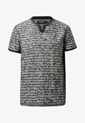 CAMILO - T-shirt imprimé - black