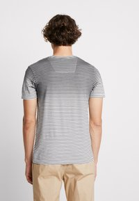 Jack & Jones - JCODROWN TEE CREW NECK - T-shirt print - black - 2