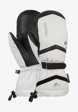 Gloves - white  black