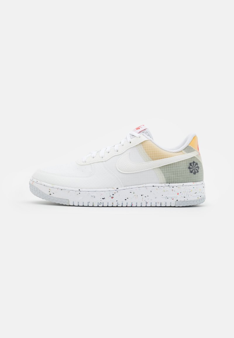 Nike Sportswear - AIR FORCE 1 CRATER  - Trainers - white/orange