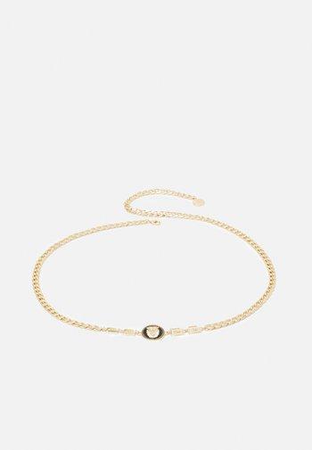 Waist belt - black/gold-coloured