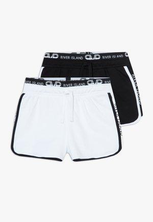 RUNNER 2 PACK  - Shorts - black/white