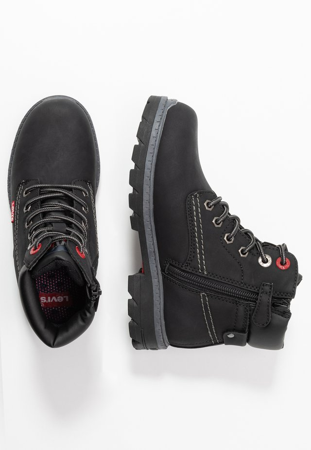 NEW FORREST MID - Bottines à lacets - black