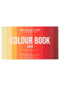 Make up Revolution - COLOUR BOOK EYESHADOW PALETTE - Oogschaduwpalet - oranges - 1
