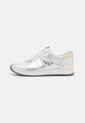 ALLIE TRAINER - Sneaker low - silver/pale gold