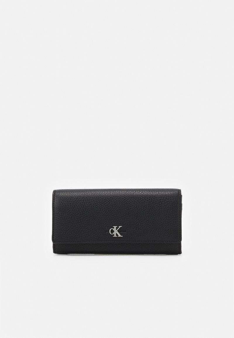 Calvin Klein - LONGFOLD - Lommebok - black