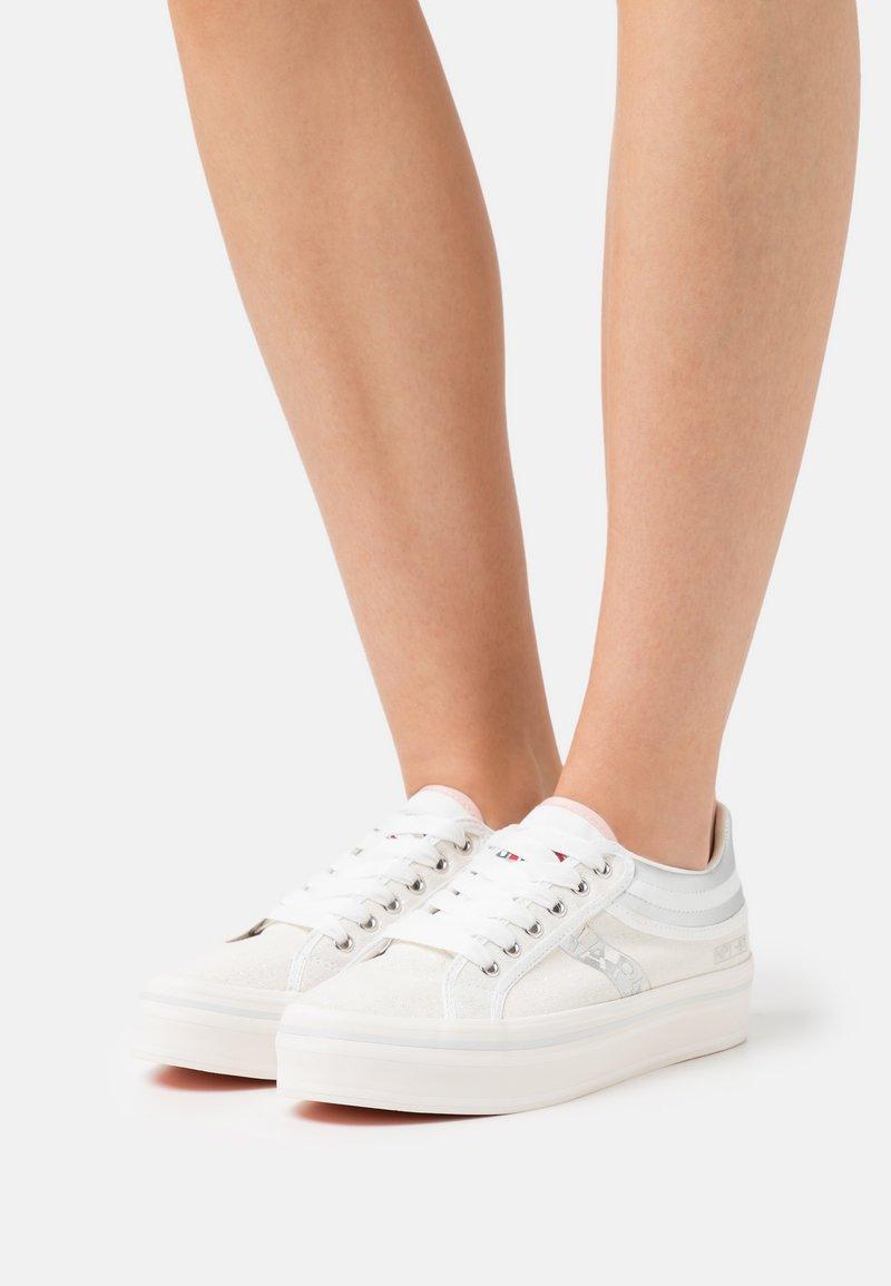 Napapijri - NEST - Sneakers laag - white/silver