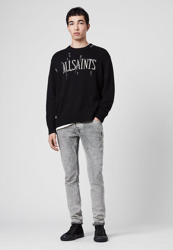 AllSaints Bluza - black/czarny Odzież Męska ARYV