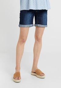 JoJo Maman Bébé - Denim shorts - indigo - 0