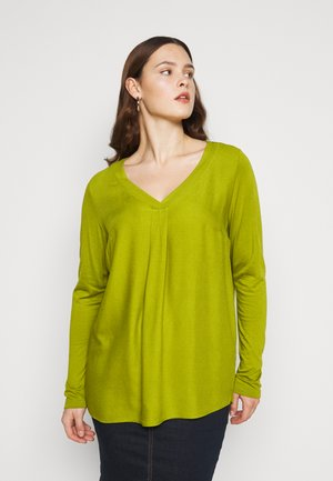 Long sleeved top - wood green