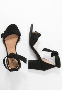 NAE Vegan Shoes - ESTELA - Sandals - black - 3