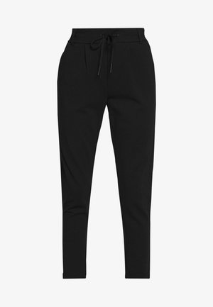 ONLPOPTRASH EASY COLOUR PANT - Trousers - black