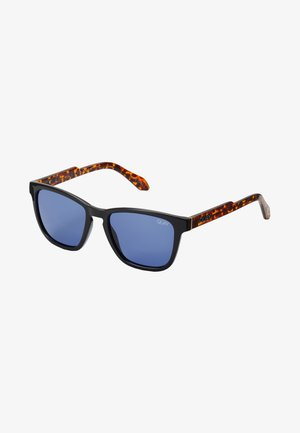 HARDWIRE SUNGLASSES - Aurinkolasit - black/brown/blue