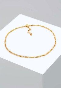 Elli - FUSSSCHMUCK FIGAROKETTE - Bracelet - gold-coloured - 2