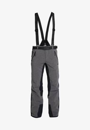 ROTHORN PANT - Snow pants - dark grey melange