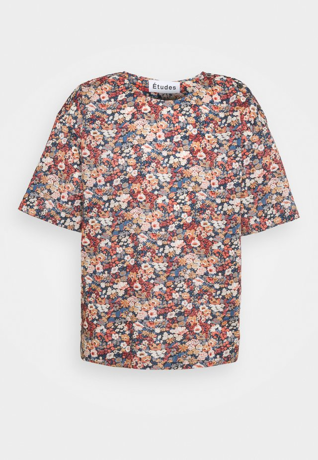 POWDER  - T-shirt con stampa - liberty red
