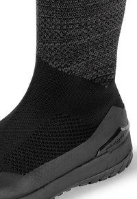 Mammut - FALERA II HIGH WP  - Winter boots - black-dark titanium - 5