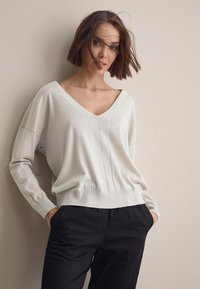 Falconeri - Sweatshirt - gesso - 0