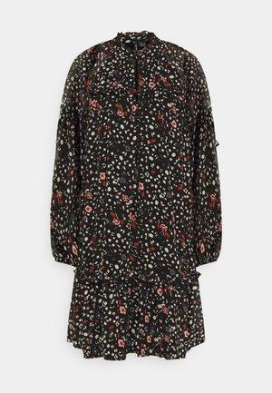 VMMILLE SHORT DRESS - Day dress - black/mille