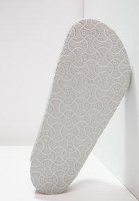 Birkenstock - AMSTERDAM - Hausschuh - light grey - 4