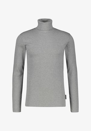 LONG SLEEVE TURTLE NECK - Long sleeved top - silber (12)
