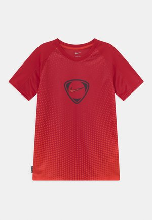 ACADEMY UNISEX - Printtipaita - gym red/chile red