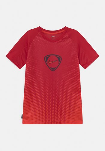 ACADEMY UNISEX - T-shirt con stampa - gym red/chile red