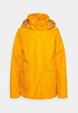 Hardshell jacket - saffron yellow