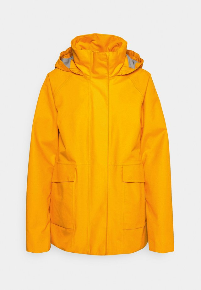 Hardshell jacket - saffron yellow