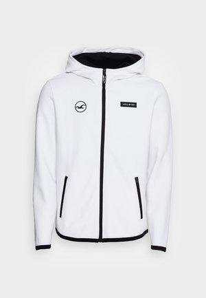 APAC ELEVATED - Zip-up sweatshirt - white