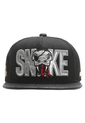 MISTER TEE CAP SNAKE CAP - Cap - black/silver/red