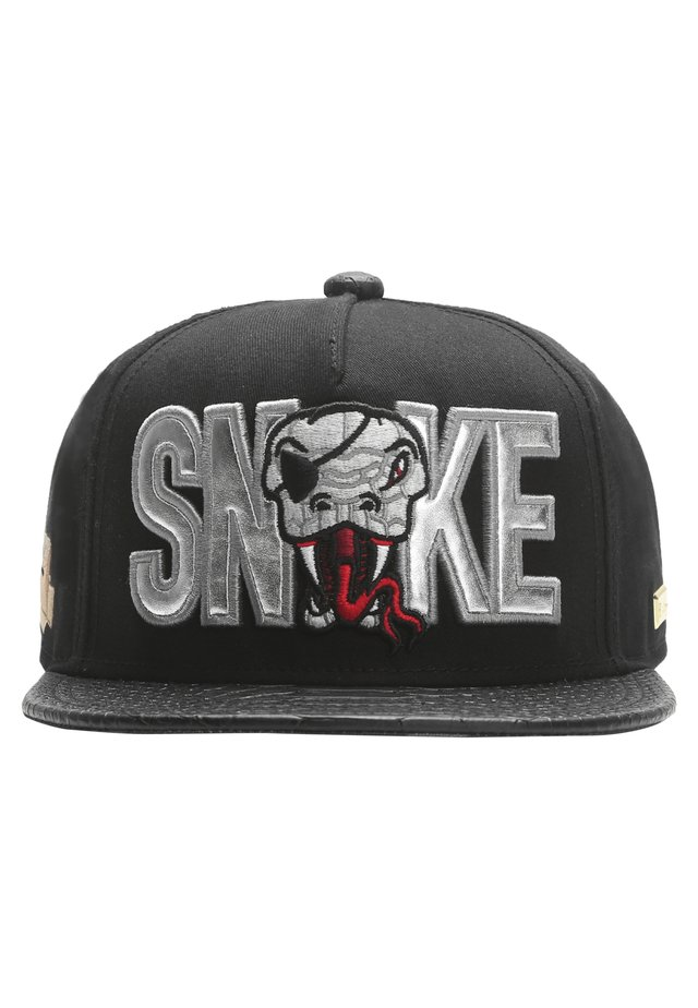 MISTER TEE CAP SNAKE CAP - Cap - black/silver/red