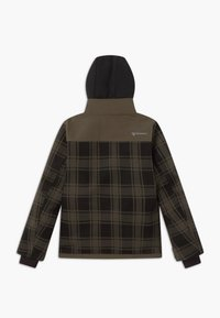 Brunotti - CHECK BOYS - Snowboardová bunda - pine grey - 1