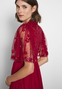 Needle & Thread - PATCHWORK BODICE BALLERINA DRESS EXCLUSIVE - Cocktail dress / Party dress - deep red - 4