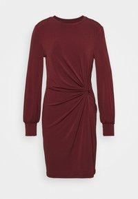 Vero Moda - VMTWISTED KNOT SHORT DRESS - Jerseykjole - port royale - 4