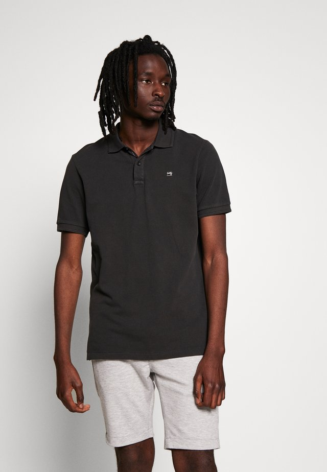 CLASSIC GARMENT DYED  - Polo - anthrazit
