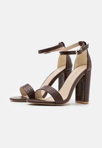 Glamorous Wide Fit - High heeled sandals - coffee - 2