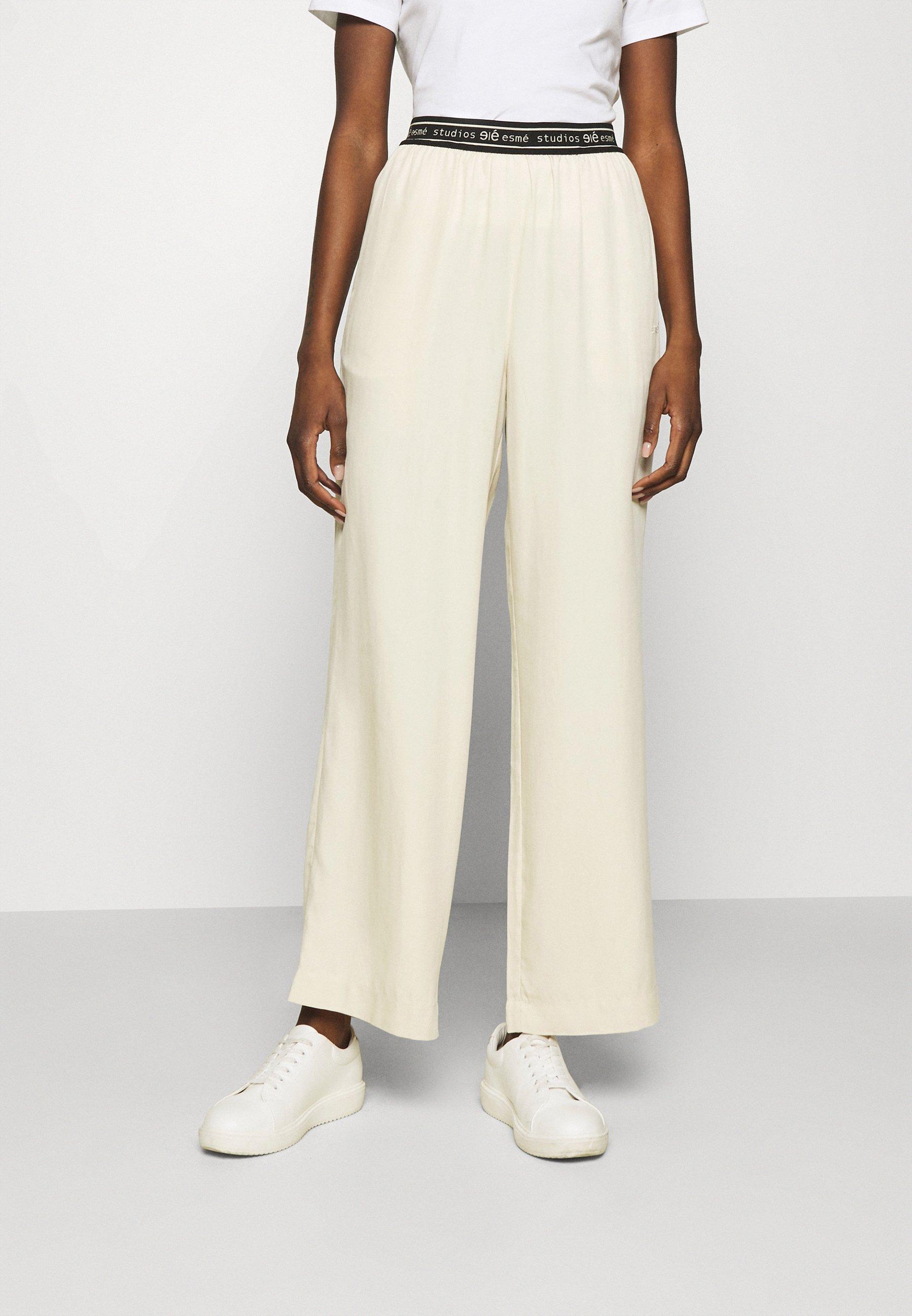 Femme ELOISE WIDE PANTS - Pantalon classique