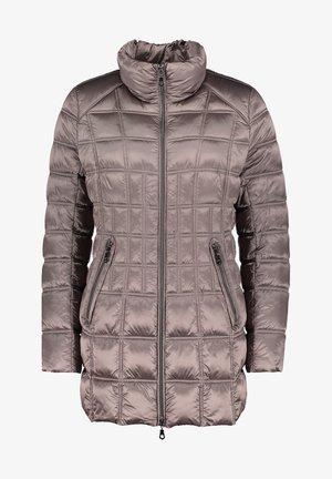Winter coat - deep taupe