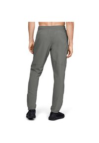 Under Armour - Tracksuit bottoms - gravity green - 2
